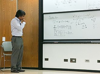 Kannan Soundararajan - Soundararajan teaching at Stanford University