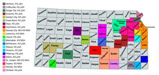 Kansas statistical areas