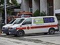 Kaoshiung City Fire Department VW T5 Ambulance after gas explosions.jpg