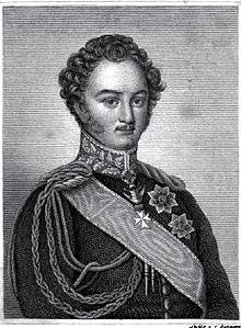 Fürst Karl Egon II. zu Fürstenberg um 1831 (Quelle: Wikimedia)