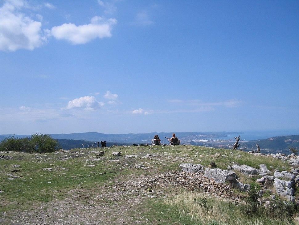 Karst beyond Trieste