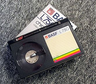 Sony Corp. of America v. Universal City Studios, Inc. - The case centered around Sony's manufacture of the Betamax VCR, which used cassettes like this to store potentially copyrighted information.