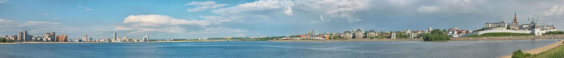 Оба берега Казанки