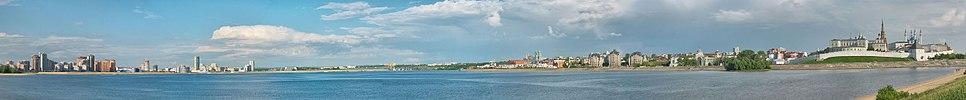 Both banks of Kazanka