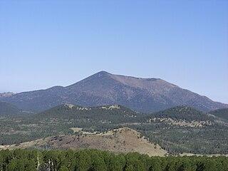 Kendrick Peak mountain in Arizona