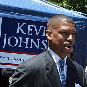 Kevin Johnson, alcalde de Sacramento