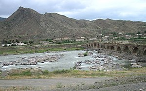 Khomarlu - One of the two Khoda Afarin bridges
