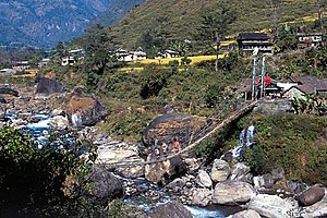 Khudi, Nepal - Image: Khudi