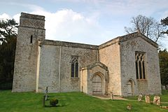 Kiddington StNicholas southwest.JPG