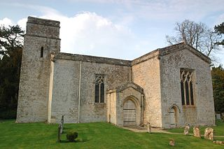 Kiddington village in United Kingdom