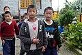 Kids at temple school, Sikkim, India (8063378889).jpg