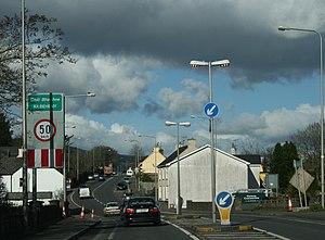 Kilbehenny - The R639 through Kilbeheny