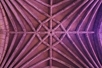 Black Abbey - Image: Kilkenny Black Abbey Ribbed Vault 2007 08 29