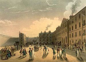 King's Bench Prison - King's Bench Prison by Augustus Pugin and Thomas Rowlandson (1808–11).