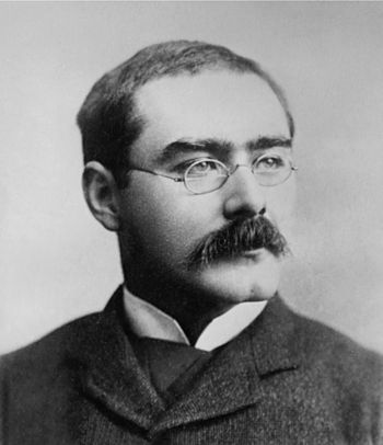 English: Kipling the British writer