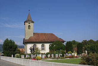 Fraubrunnen - Swiss Reformed church of Limpach