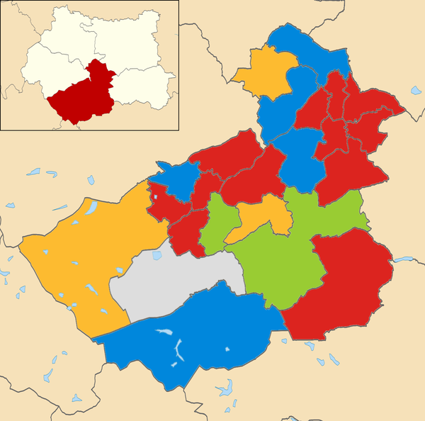 2012 local election results in Kirklees