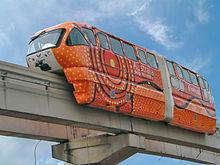 Kereta Monorel di Kuala Lumpur Malaysia