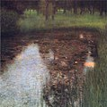 Klimt - Calm Pond on the Kammer Castle Grounds, 1899.jpg