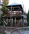 Kościół p.w.św. Michała archanioła (1739) dzwonnica - Witoroż gmina Drelów powiat bialski woj. lubelskie ArPiCh A-114.JPG