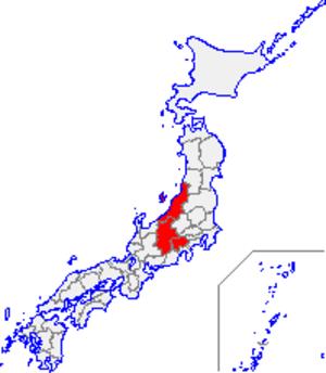 Kōshin'etsu region - Koshin'etsu region