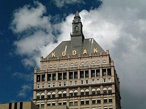 Howard Wright Cutler - Image: Kodak Tower Top
