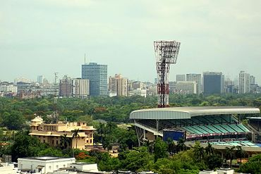 Skyline of Kolkata Metropolitan Area (KMA)