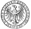 Konrad II Garbaty seal 1283.PNG