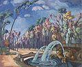 Konrad Mägi - Pargimotiiv fontääniga. Rooma.jpg