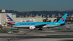 Korean Air Cargo Boeing 777 at LAX (22517467868).jpg