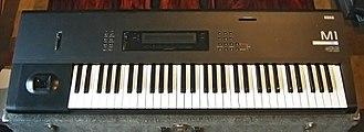 Music workstation - Korg M1 (1988–1990s)