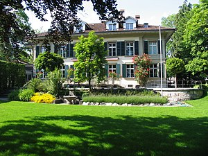 Galerie Kornfeld - View from the garden