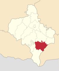 Розташування району