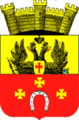 Kovel COA (Volyn Governorate) (1852).png