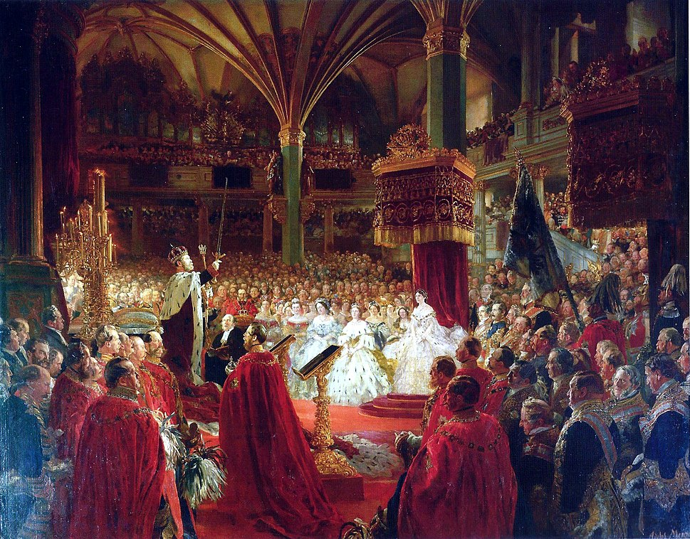 Krönung 1861