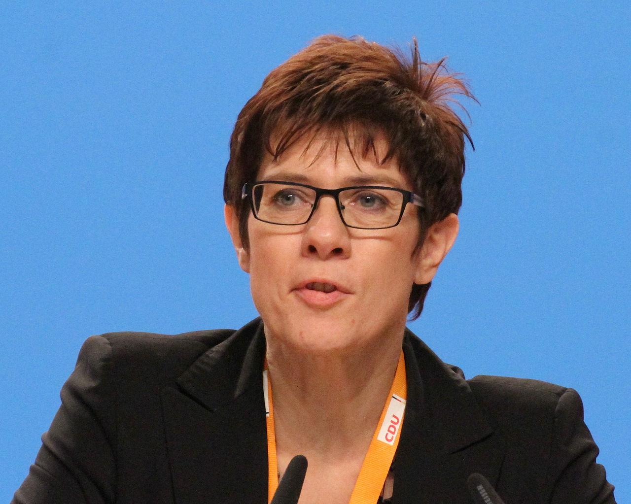 Kramp-Karrenbauer CDU Parteitag 2014 by Olaf Kosinsky-4.jpg