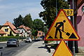 Kudowa-Zdrój, stavební práce.jpg