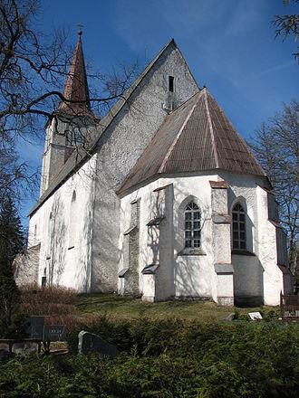 Kullamaa - Kullamaa church