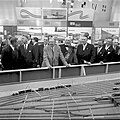 Kungaparet besöker MS Trelleborgs utställning 1958 JvmKBDB08382.jpg