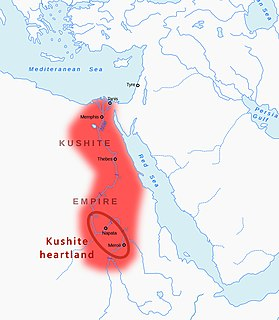 Kingdom of Kush c. 785 BC – c. 350 AD kingdom in Nubia, northeast Africa