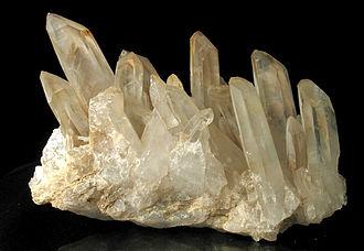 Hexagonal crystal family - Image: Kwarc, Madagaskar
