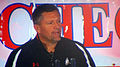 Kyle Whittingham at 2009 Poinsettia Bowl AT&T Team Luncheon at USS Midway Museum 2.JPG
