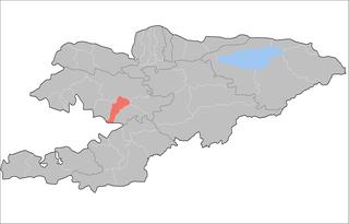 Bazar-Korgon District Raion in Jalal-Abad Region, Kyrgyzstan