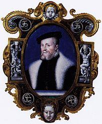 Léonard Limousin: Portrait of Anne the Montmorency