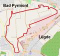 Lügde - Emmertal - Map.png