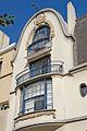 La façade de limmeuble art nouveau, 5 rue Schoelcher, Paris.jpg