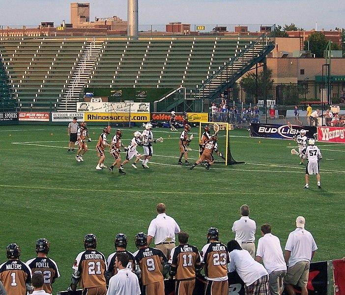 File:Lacrosse match - Rochester vs Long Island.jpg