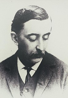 Lafcadio Hearn in 1889 by Frederick Gutekunst