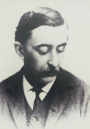 Lafcadio Hearn - Lafcadio Hearn in 1889 by Frederick Gutekunst