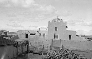 Laguna, New Mexico - Laguna Mission, 1934. Photo: Historic American Buildings Survey